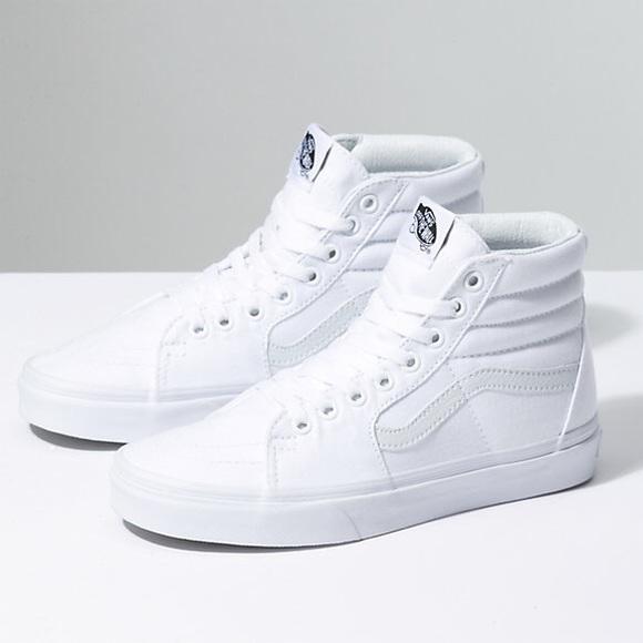 6e17a4ec0b16 White van high tops. M 5a8326e2b7f72b0bb37224e0